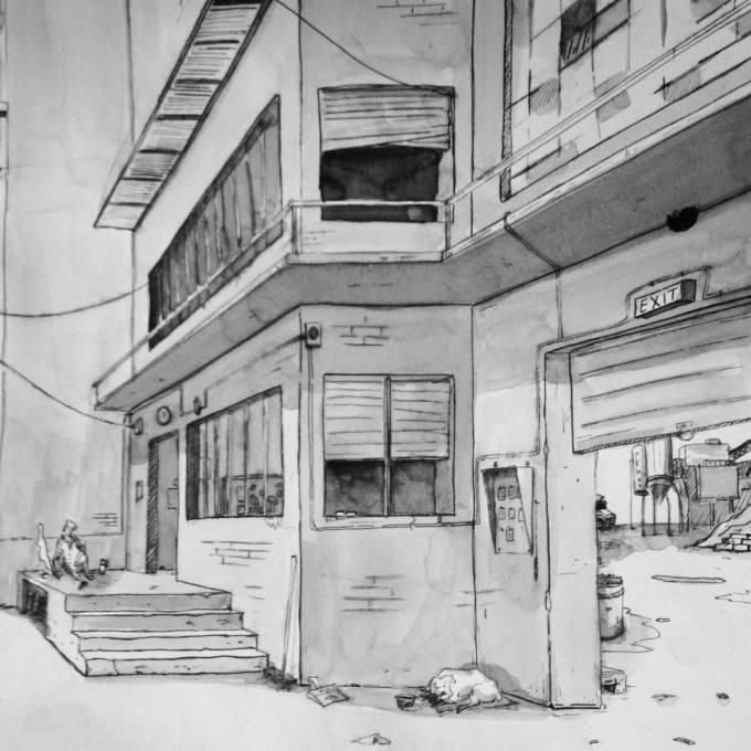 garage droite